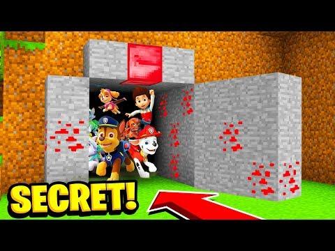 Minecraft : We Found PAW PATROLS SECRET WORLD! (Ps3/Xbox360/PS4/XboxOne/PE/MCPE)