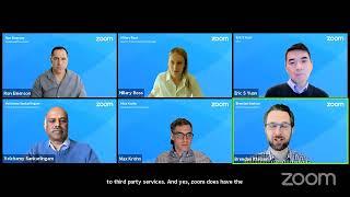 Ask Eric: Zoom Platform & Security Updates
