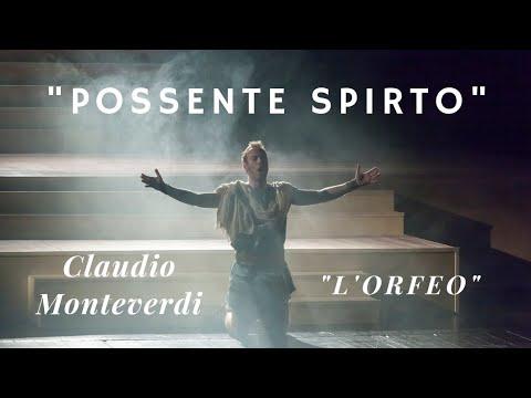 "Nikola Diskić - Claudio Monteverdi - ""L' Orfeo"" - Aria Orfeo:""Possente spirto"""