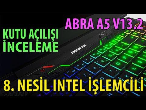[2018] Monster ABRA A5 V13.2 Gaming Laptop İncelemesi + Kutu Açılışı