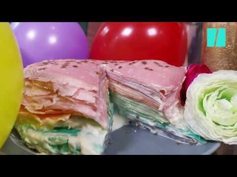 pour-la-chandeleur,-on-a-testé-un-gâteau-de-crêpes-coloré-mais-trop-sucré