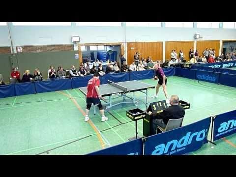 TT 2. BL. 20.03.2011: R. Rosenberg vs. Y. Wang (HD, 33:51 Min.) Tischtennis Bergneustadt-Siek