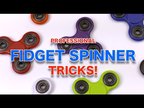 BEST Professional Fidget Spinner Tricks