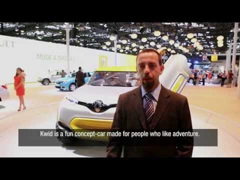Renault @Sao Paulo 2014 - Brazil meets Kwid concept-car