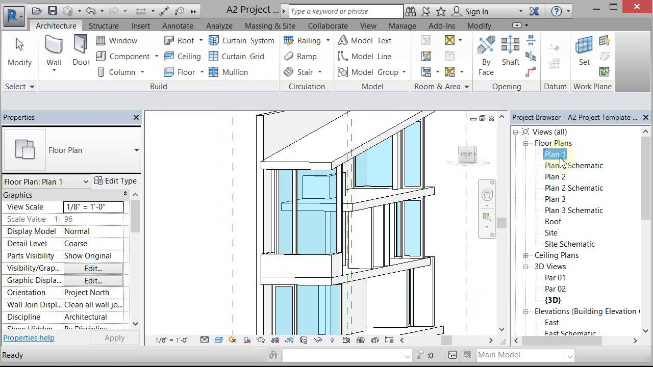 Curtain Wall Cleanup Revit