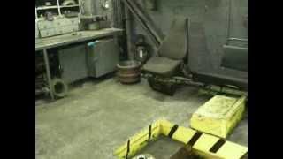 Работа на автобазе и ремонт Камаз 65115.