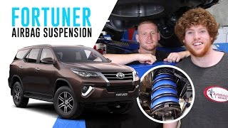 How To Install: Toyota Fortuner Air Suspension - Cr5069 Airbag Man Coil Helper Kit