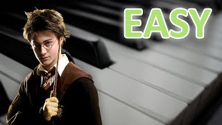 EASY Harry Potter Theme Song Piano Tutorial