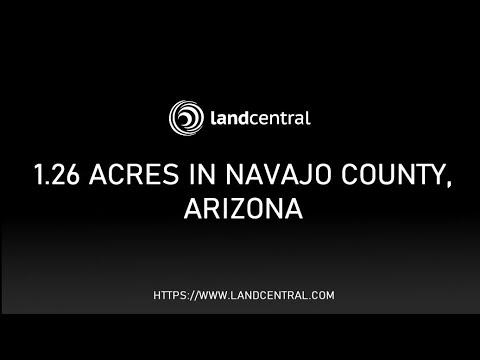 Property 13042: 1.26 acres in Navajo County, AZ