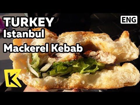 【K】Turkey Travel-Istanbul[터키 여행-이스탄불]고등어 케밥/Mackerel Kebab/Galata Bridge/Kalyatai Barbaros