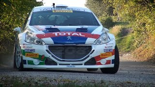 Rally Due Valli 2018 - Peugeot 208 T16 e Paolo Andreucci - Shakedown