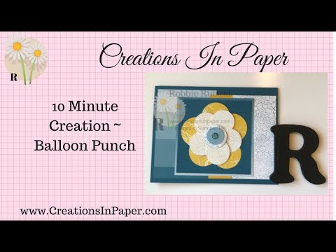 10 Minute Creation ~ Balloon punch