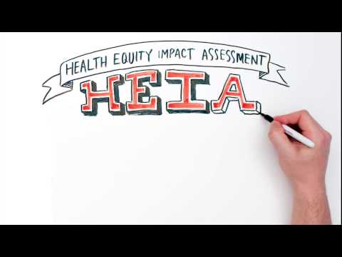 Cover all the bases with Health Equity Impact Assessment (HEIA)