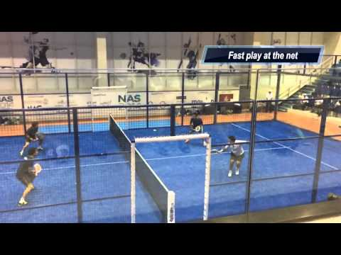 2014 NAS PRO Padel Tennis Players Tournament - The Final