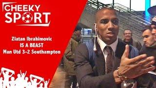 Man Utd 3-2 Southampton   EFL CUP Final Celebrations Ft Ashley Young, David James & Jamie Redknapp