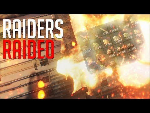 RAIDING The RAIDERS! They Were HIDING While We COUNTERED! - Rust thumbnail