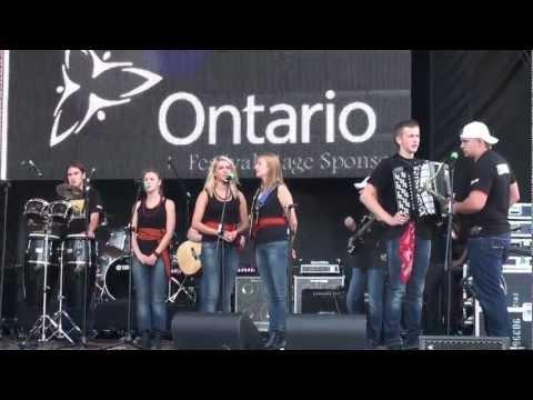 Lemko Tower Youth Ensemble @ 15th. Toronto Ukrainian festival 2011