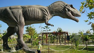 Турция 2017# Динопарк в г.Сиде#Discovery Park# тираннозавр Рекс# экскурсия для детей