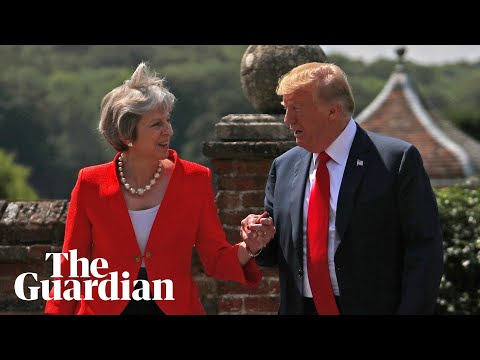 Key moments from Trump and May's joint press conference