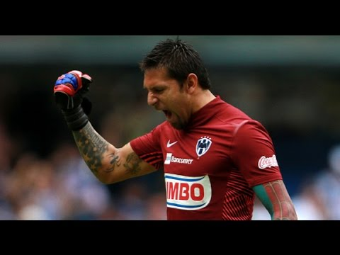 Increible Atajada de Jonathan Orozco vs Veracruz - veracruz vs monterrey 2-1 2015