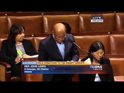 Representative John Lewis (D-GA-05) on Gift Tax