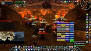 Classic Warcraft Restoration Shaman - Onyxia & Molten Core Full Clear
