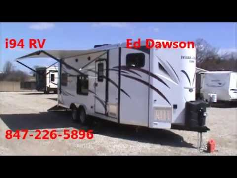 Work And Play Toy Hauler >> *SOLD* 2014 Work & Play 21 VFB Toy Hauler Travel Trailer i94RV.com - YouTube
