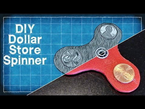 Thumbnail: DIY Dollar Store Fidget Spinner - DIY with Cly Ep. 2