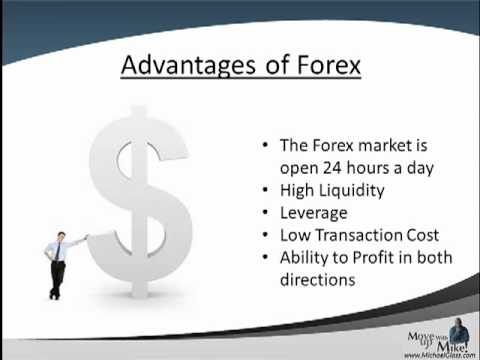 Understanding Forex Series - Advantages of Trading Forex