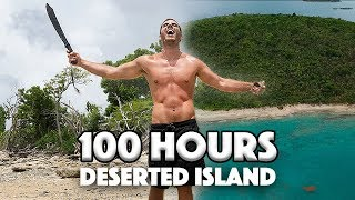 100 Hours on a DESERTED ISLAND! Survival Challenge (Gone Wrong)