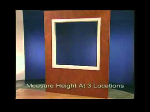 No Worries Blinds- How to Measure The Windows For Inside Installation