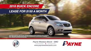 2016 Buick Encore for $150/month | Payne Buick & GMC | Weslaco, Texas