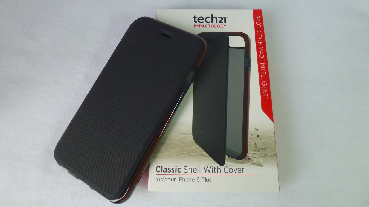 sale retailer dee8e 5280d Tech21 Classic Shell with Cover for iPhone 6 Plus: Excellent Protection!