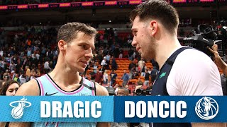 Luka Doncic celebrates 21st birthday vs. fellow Slovenian Goran Dragic | 2019-20 NBA Highlights