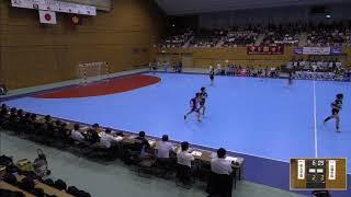 2019年IH ハンドボール 女子 決勝 明光学園(福岡)VS 白梅学園(東京)