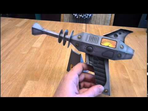Electrostatic Ray Gun Papercraft Youtube