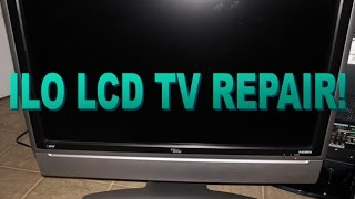 how to repair ilo 32hd lcd tv with no power or no picture