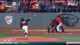Oregon State Baseball Highlights - 3/11/18 vs. Cal State Fullerton