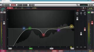 Від Soundcraft Ui24R екв комп на FX