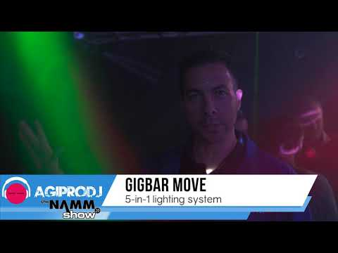 CHAUVET DJ GIGBAR MOVE First Look - NAMM 2020 | Agiprodj.com