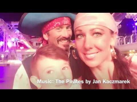 Pirate Night aboard the Disney Dream w The MacKay Pirate Family