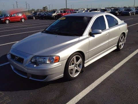 2005 Volvo S60 R AWD T5 Start Up, Quick Tour, & Rev With Exhaust View - 83K