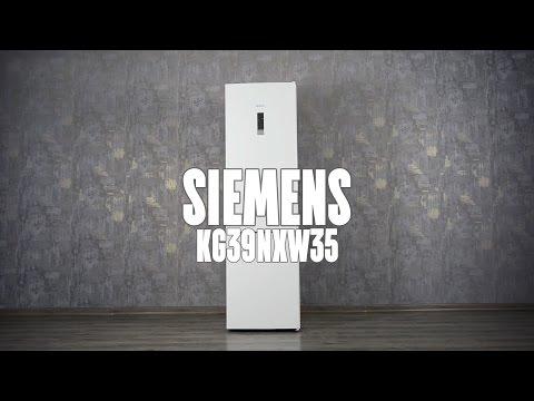 SIEMENS KG39NXW35: РАСПАКОВКА И ОБЗОР