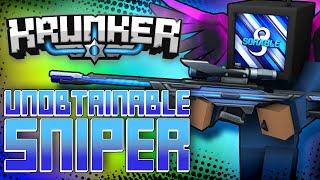 THE NEW RAREST SNIPER IN KRUNKER! ANTI-MATTER! (UNOBTAINABLE)