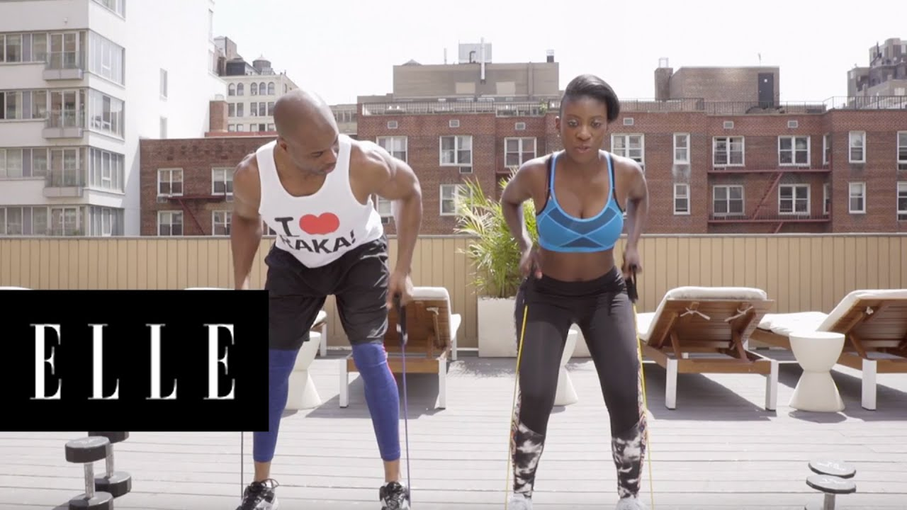4 Most Effective Arm Workout Moves | ELLE