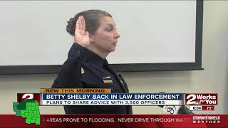 Betty Shelby to speak at cop convention