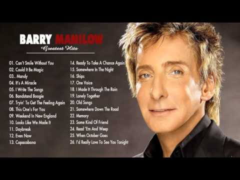 Barry Manilow Greatest Hits - The Best Of Barry Manilow