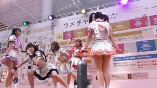 むすびズム 『マエヲムケ!』 @ OSAKA KAWAii!! in 茶屋町 NU茶屋町 特設ステージ 2016/10/08