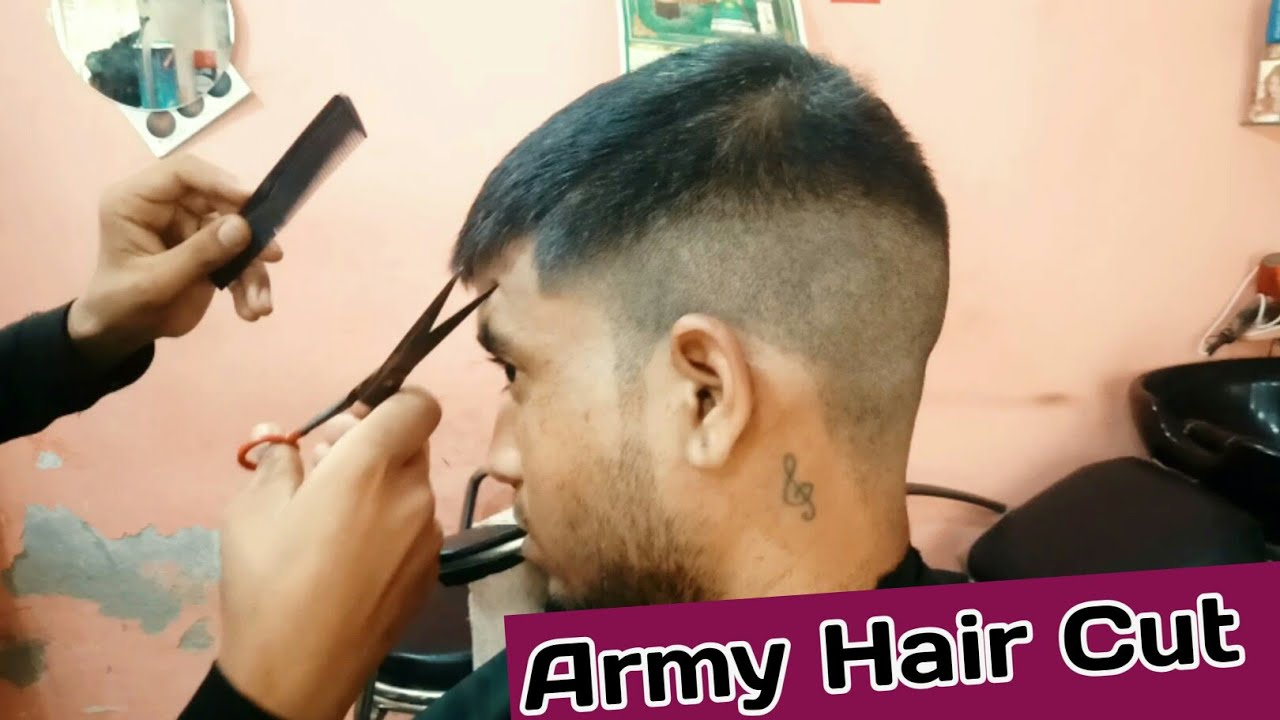 Indian Army Haircut Military Haircut 2020 Youtube