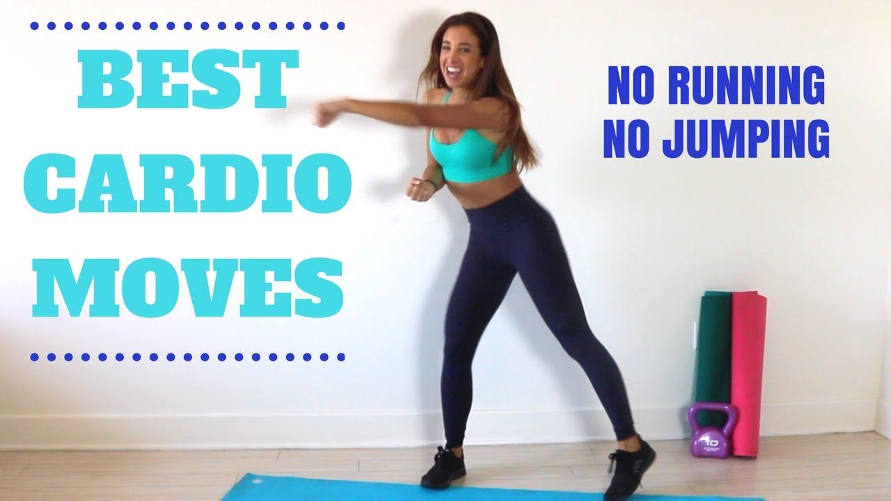 Best CARDIO Moves with NO Running or Jumping!! | Katie Austin ...